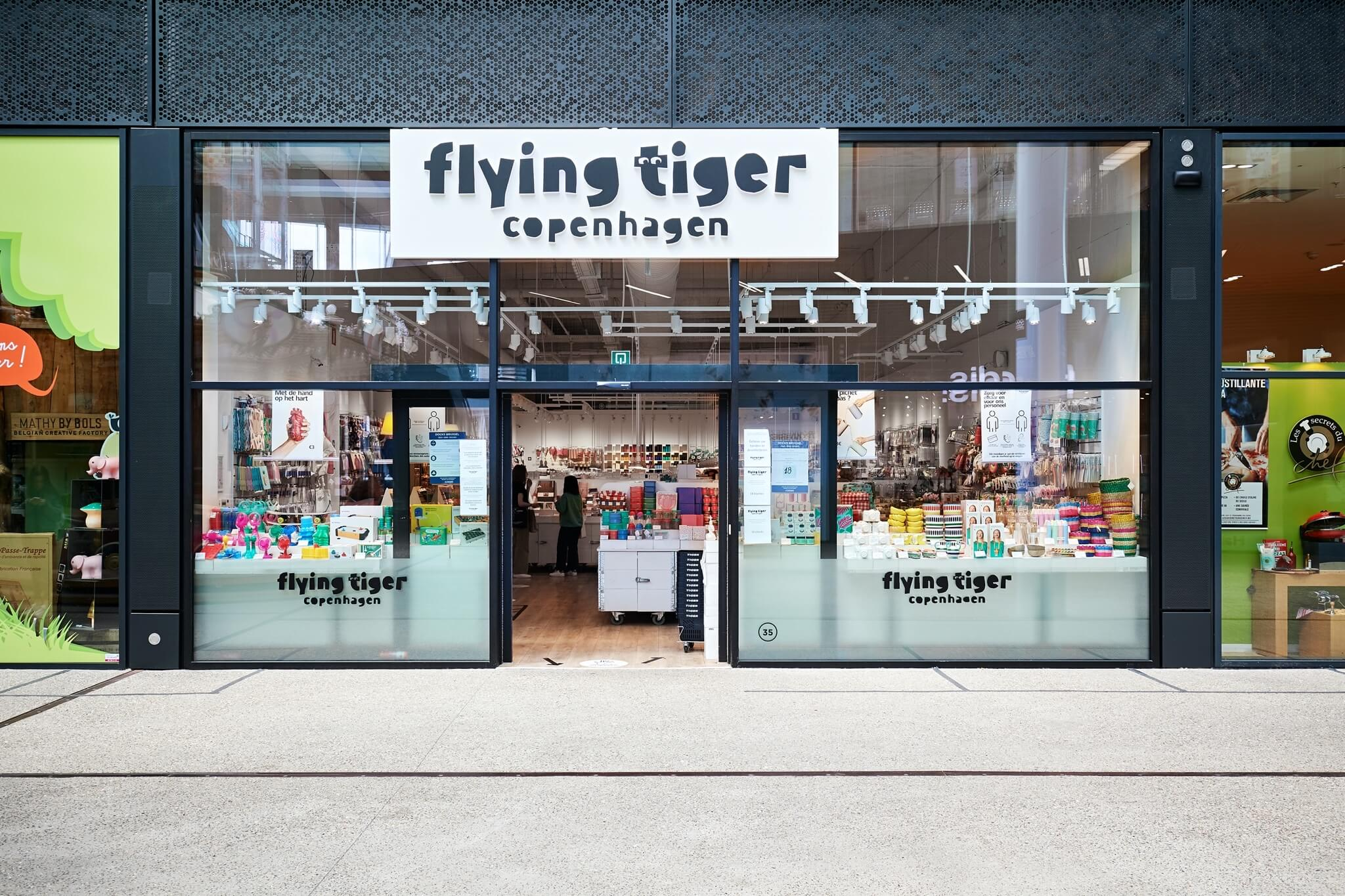 Flying Tiger Copenhagen | Docks Bruxsel | Shopping Center in Brussels