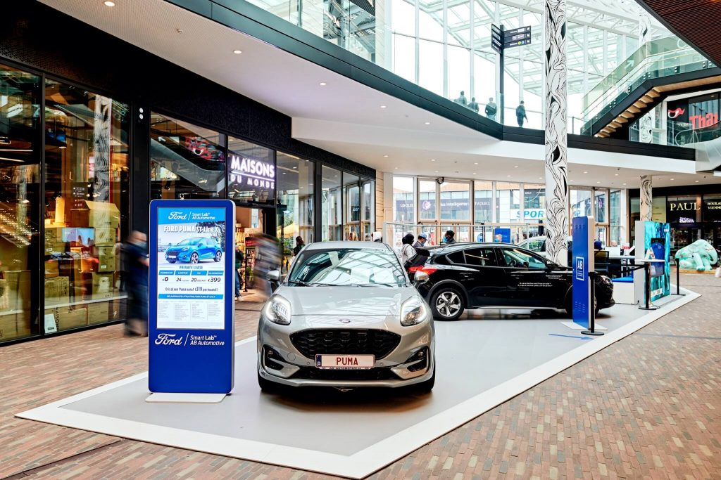 Ford Belgium | Docks Bruxsel | Shoppinng Center Brussels