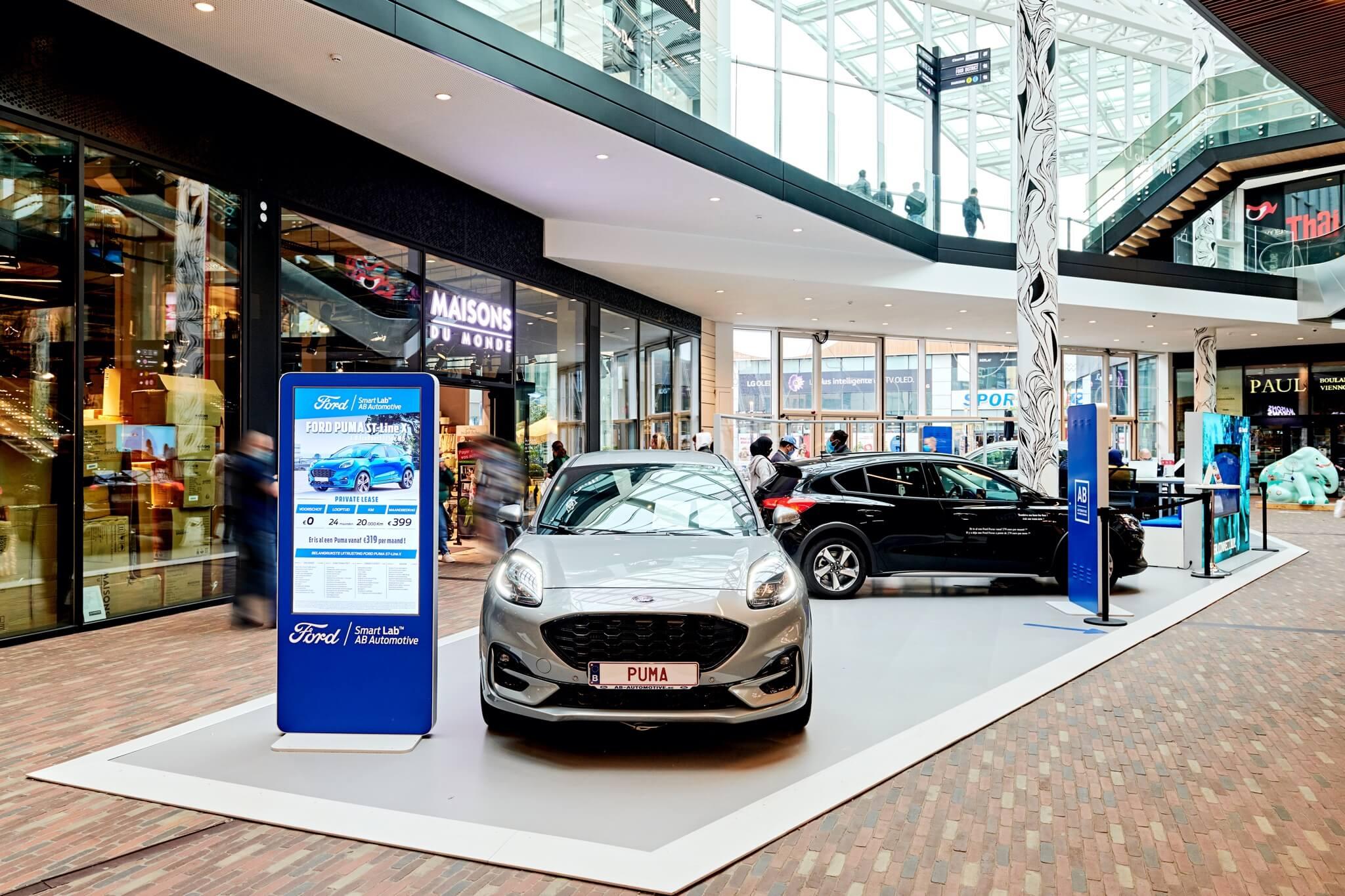 Ford | Docks Bruxsel | Shopping Center in Brussels