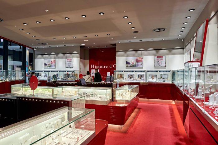 Histoire d'Or | Docks Bruxsel | Shopping Center in Brussels