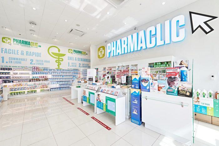PharmaClic Bruxelles | Docks Bruxsel | Shopping Center
