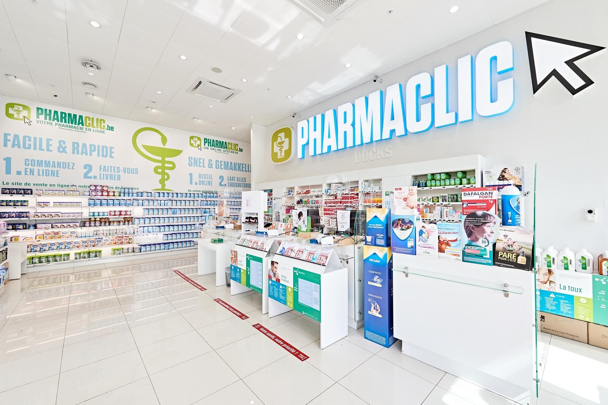 PharmaClic | Docks Bruxsel | Shopping Center in Brussels