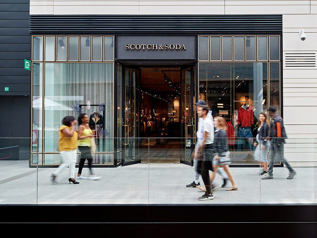 Scotch & Soda shop at Docks Bruxsel