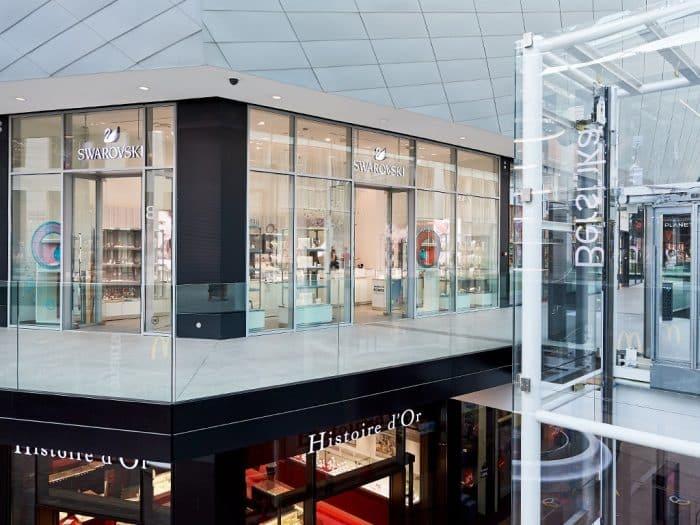 Swarovski | Docks Bruxsel | Shopping Center Brussels
