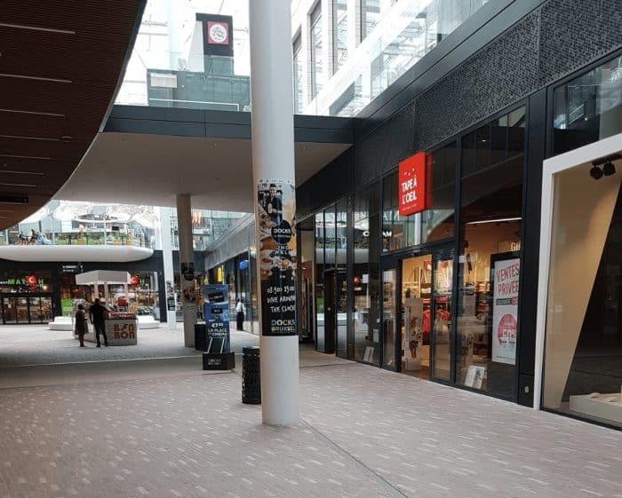 Tape a loeil | Docks Bruxsel | Shopping Center in Brussels
