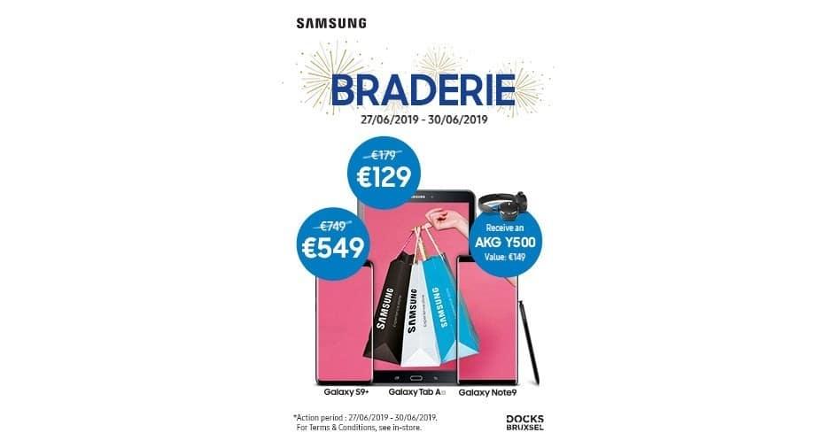 Samsung Experience Store Braderie | Docks Bruxsel | Shopping Center in Brussels